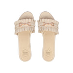 Beige Holly Flats