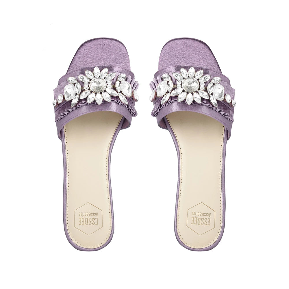 Mauve Tiffany Sandals