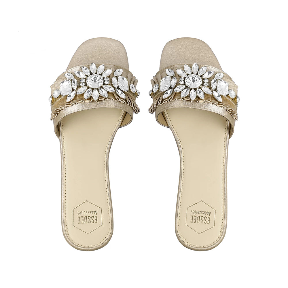 Light Gold Tiffany Sandals
