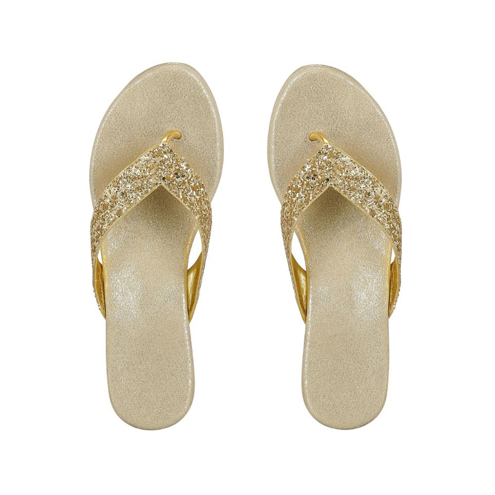Gold Shimmer Shoes