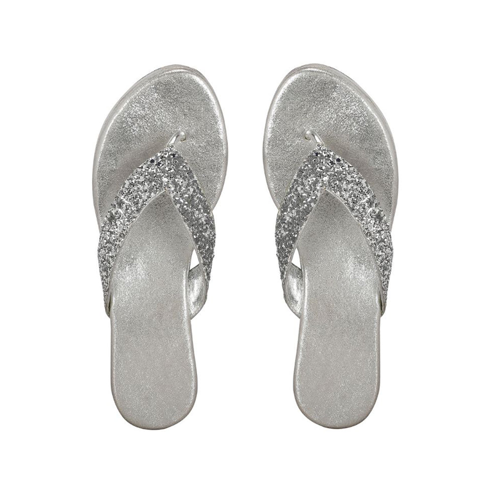 Silver Shimmer Shoes