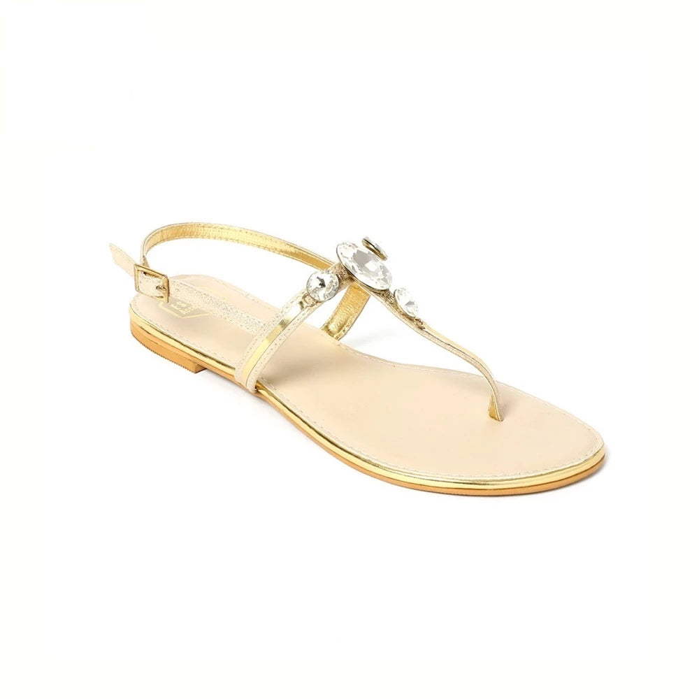 Light Gold Siena Flats