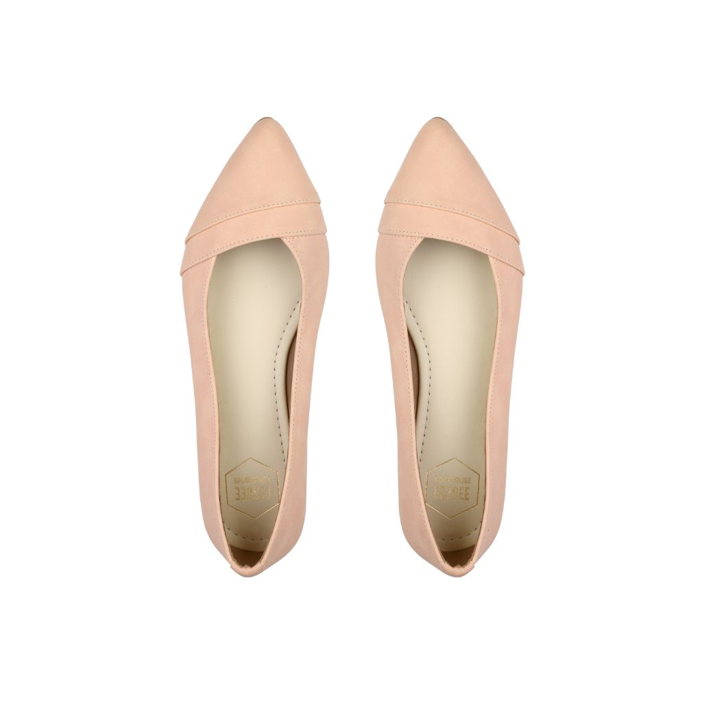 Light Pink Paris Flats