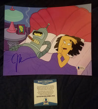 John DiMaggio Beckett Authenticated Hand Signed 8x10 Photo Bender Futurama