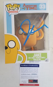 John DiMaggio PSA Authenticated Jake The Dog Hand Signed Funko Pop