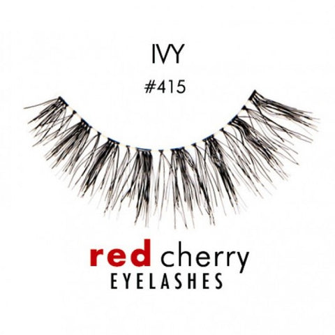 Red Cherry Lashes - Ivy 415 - Milky Beauty