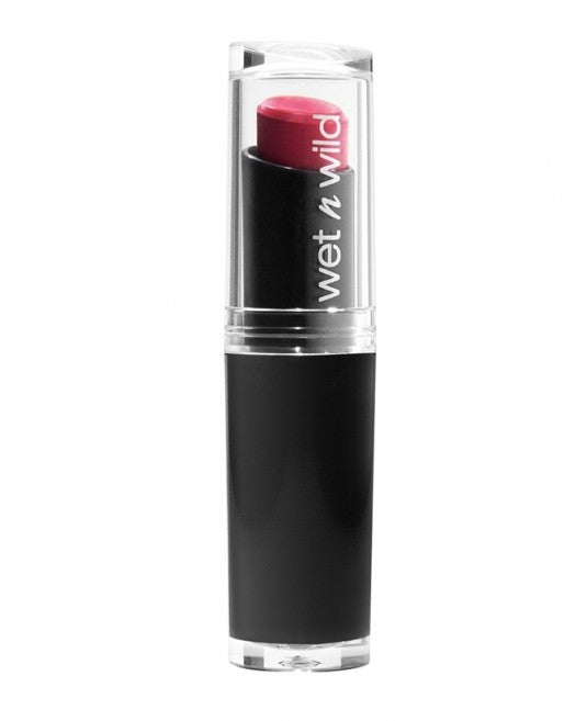wet n wild Mega Last Lip Color -905D Smokin' Hot Pink - Milky Beauty