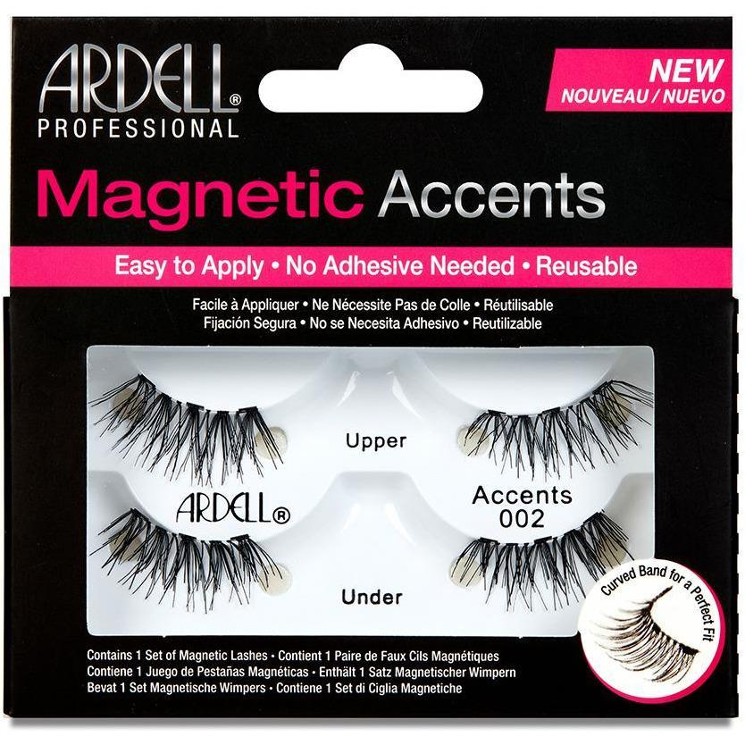 Ardell Magnetic Strip Lashes - Accents 002 - Milky Beauty