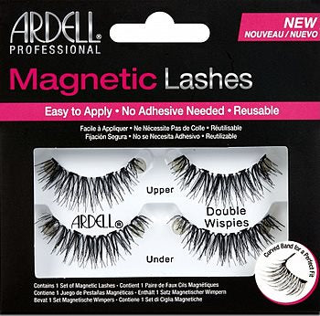 Ardell Magnetic Strip Lashes - Double Wispies - Milky Beauty