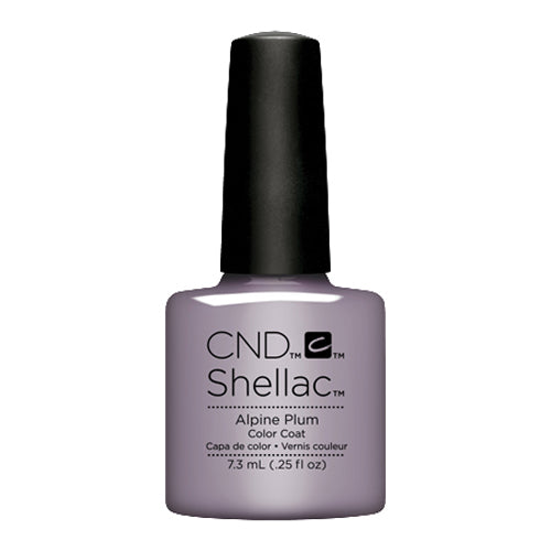 CND Shellac - Alpine Plum 0.25 oz - Milky Beauty