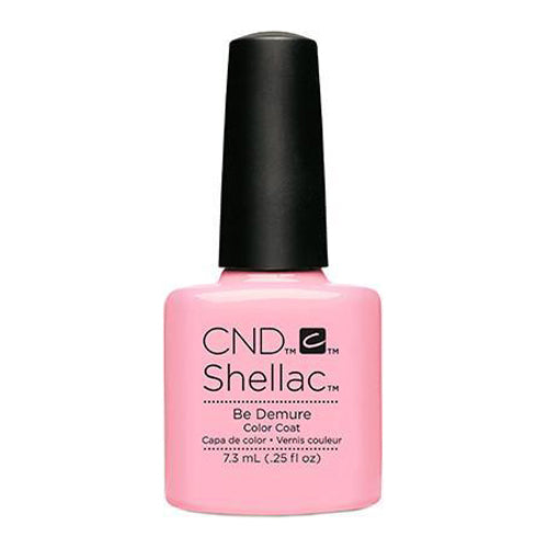 CND Shellac - Be Demure 0.25 oz - Milky Beauty