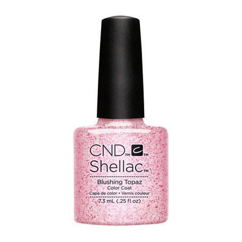 CND Shellac - Blushing Topaz 0.25 oz - Milky Beauty