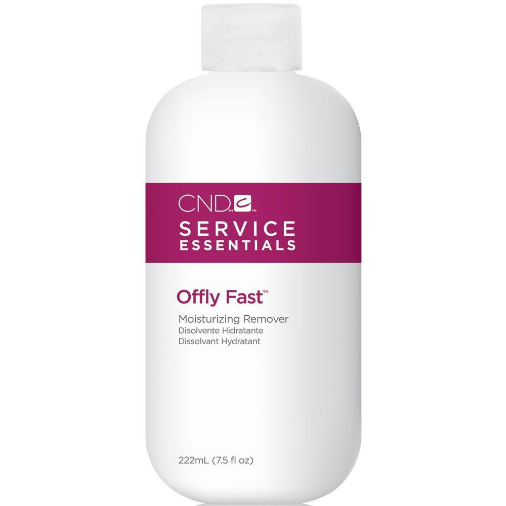 CND Service Essentials - Offly Fast Moisturizing Remover 7.5 oz - Milky Beauty