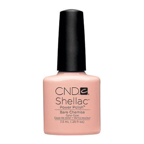 CND Shellac - Bare Chemise 0.25 oz - Milky Beauty