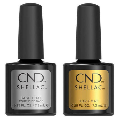 CND Shellac - Base and Top Coat 0.25 oz - Milky Beauty