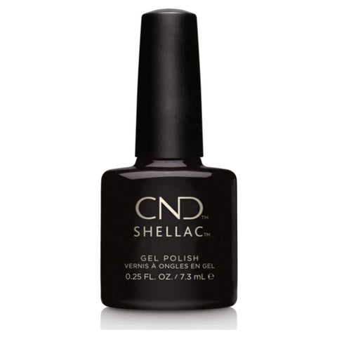 CND Shellac - Black Pool 0.25 oz - Milky Beauty