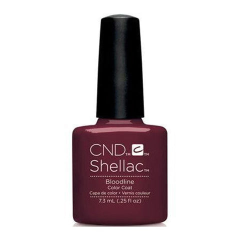CND Shellac - Bloodline 0.25 oz - Milky Beauty