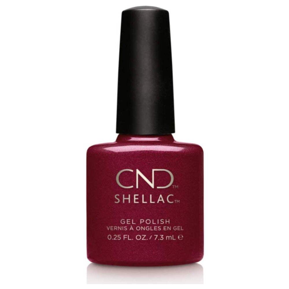 CND Shellac - Crimson Sash 0.25 oz