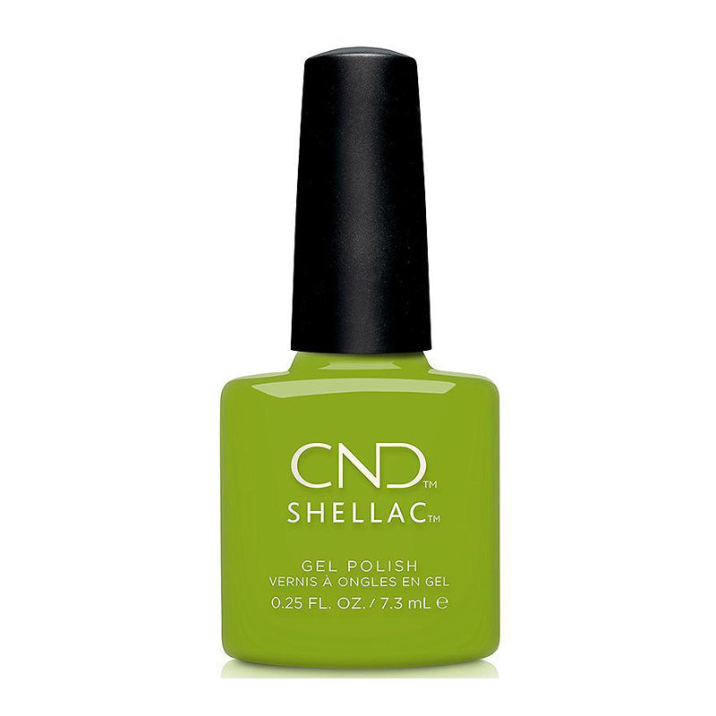 CND Shellac - Crisp Green 0.25 oz - Milky Beauty