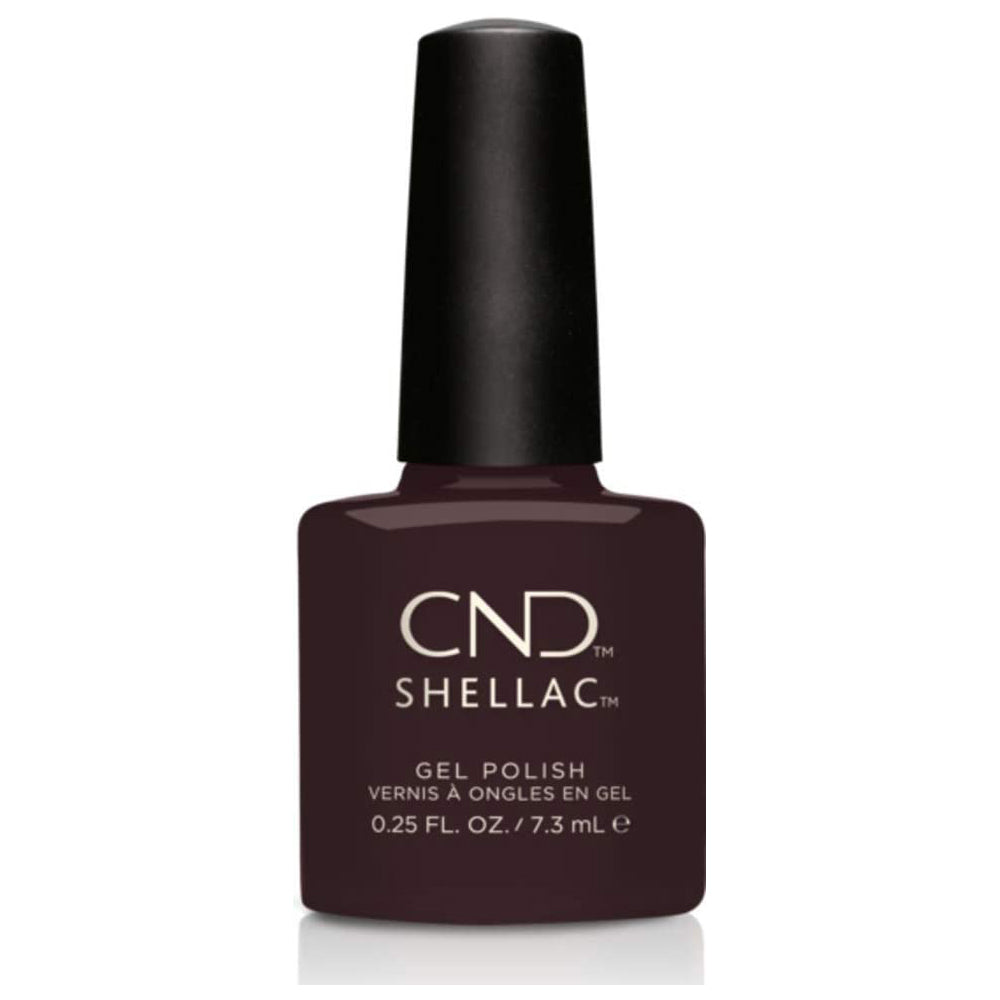 CND Shellac - Dark Dahlia 0.25 oz - Milky Beauty