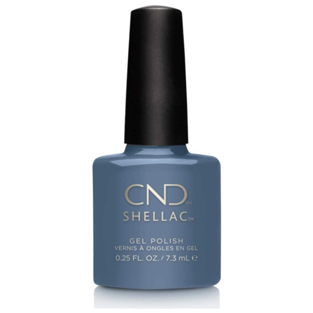 CND Shellac - Denim Patch 0.25 oz - Milky Beauty