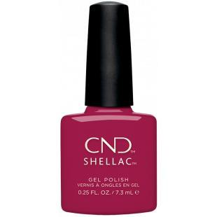 CND Shellac - How Merlot 0.25 oz