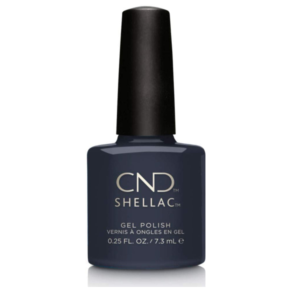 CND Shellac - Indigo Frock 0.25 oz - Milky Beauty
