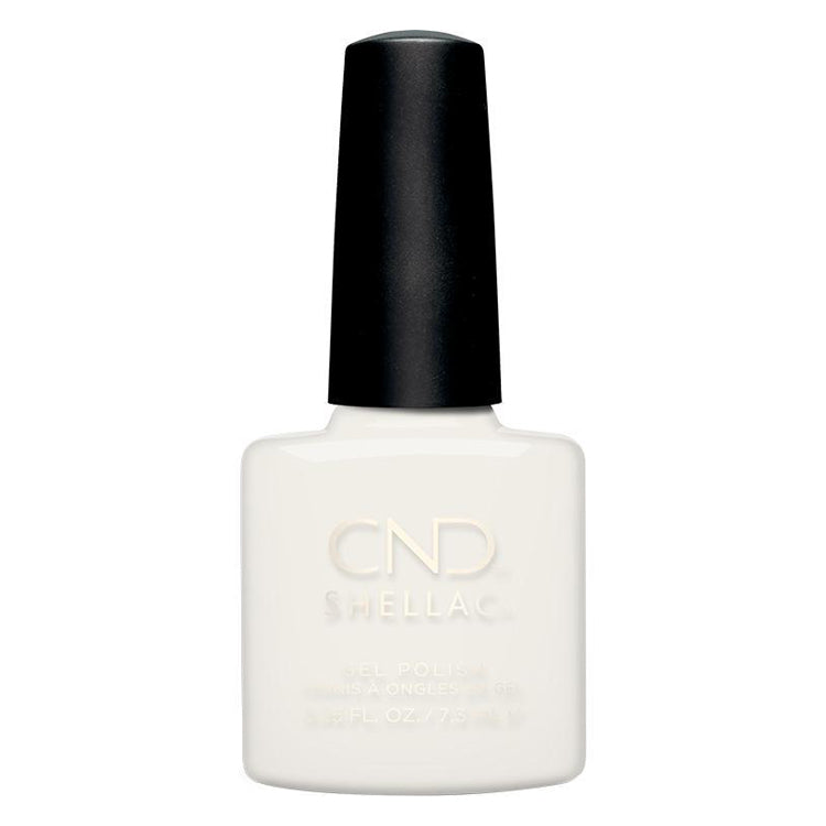 CND Shellac - Lady Lilly 0.25 oz - Milky Beauty