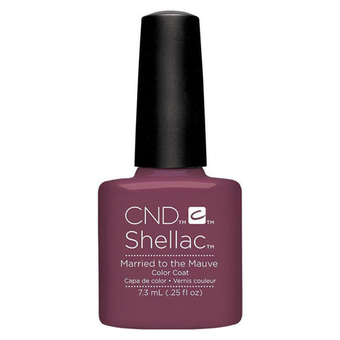 CND Shellac - Married To The Mauve 0.25 oz - Milky Beauty