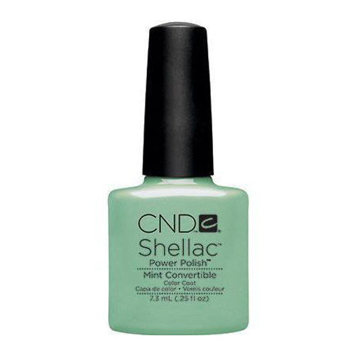 CND Shellac - Mint Convertible 0.25 oz - Milky Beauty
