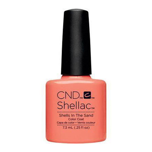 CND Shellac - Shells In The Sand 0.25 oz - Milky Beauty