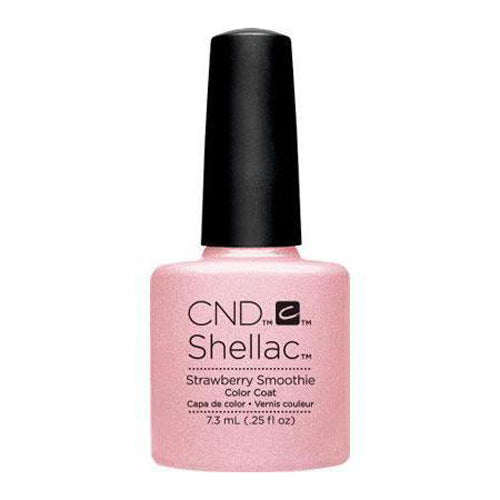 CND Shellac - Strawberry Smoothie 0.25 oz - Milky Beauty