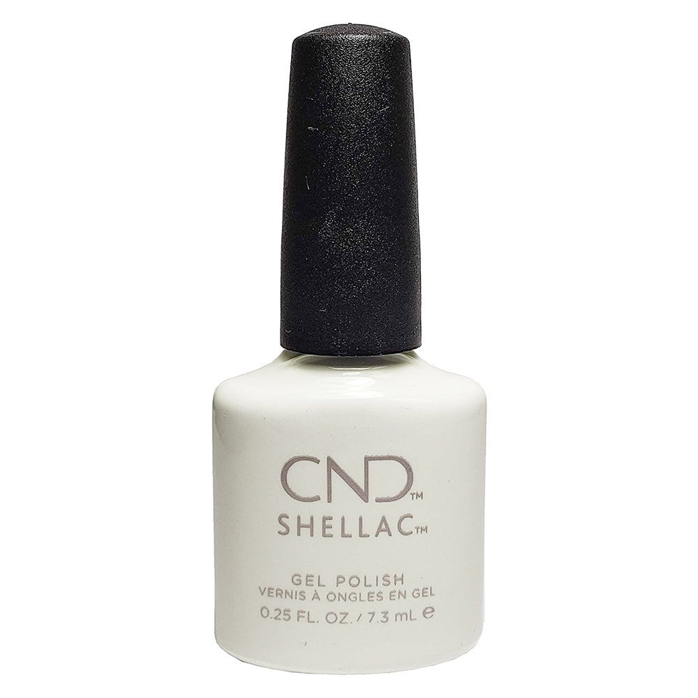 CND Shellac - Studio White 0.25 oz - Milky Beauty