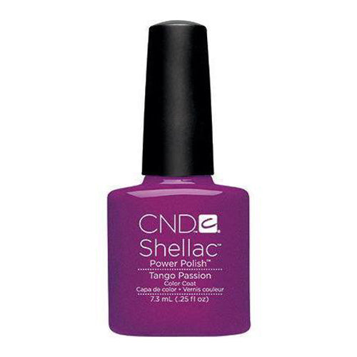CND Shellac - Tango Passion 0.25 oz - Milky Beauty