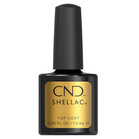 CND Shellac - Original Top Coat 0.25 oz - Milky Beauty