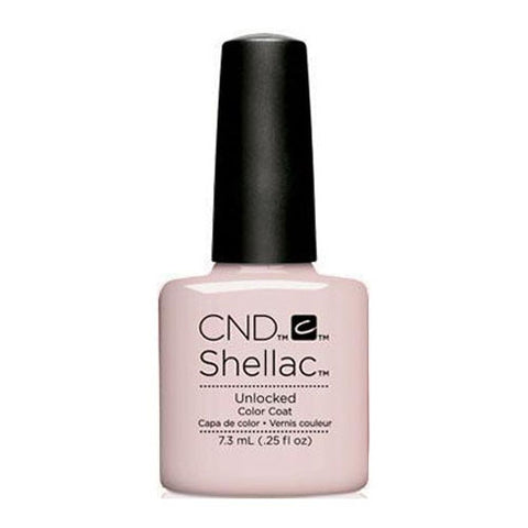 CND Shellac - Unlocked 0.25 oz - Milky Beauty