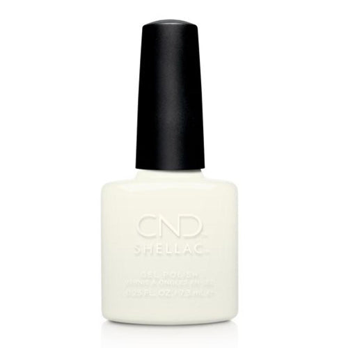 CND Shellac - White Wedding 0.25 oz - Milky Beauty