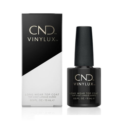 CND Vinylux - Top Coat 0.5 oz - Milky Beauty