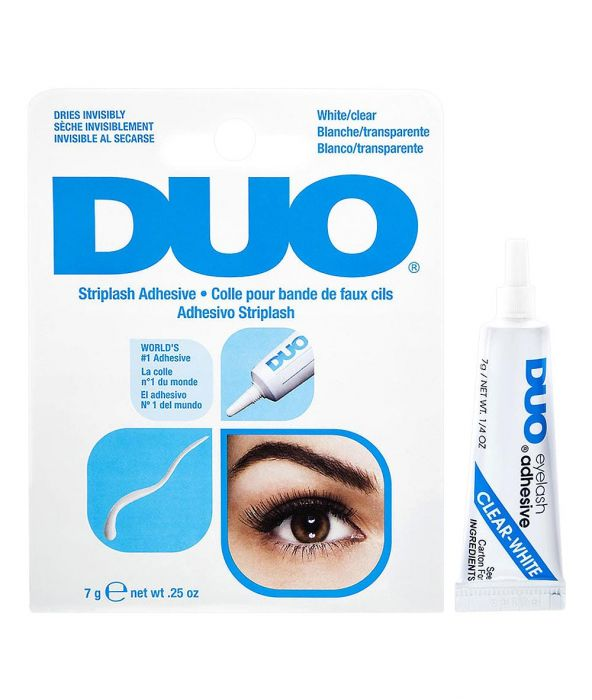 Duo Striplash Adhesive - White - Milky Beauty
