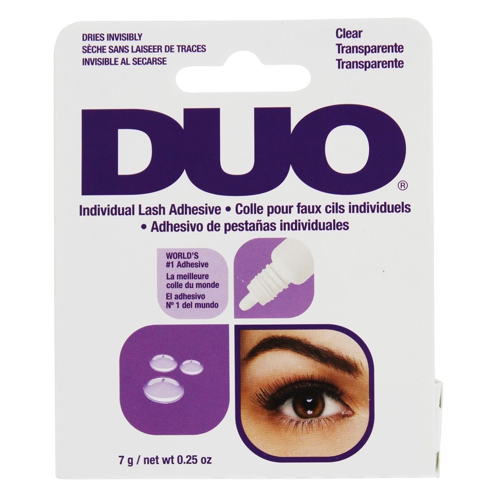 Duo Individual Lash Adhesive - Clear - Milky Beauty