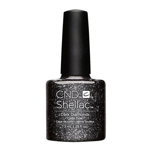 CND Shellac - Dark Diamonds 0.25 oz - Milky Beauty