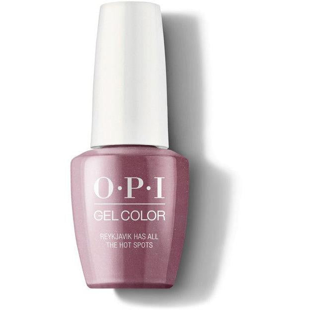 OPI Gel Color - Reykjavik Has All the Hot Spots 0.5 oz - GCI63