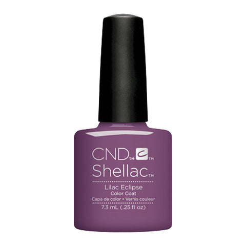CND Shellac - Lilac Eclipse 0.25 oz - Milky Beauty