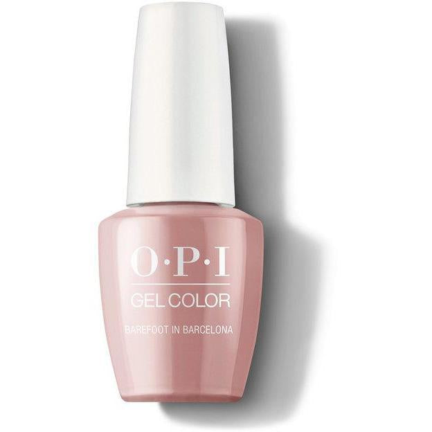 OPI Gel Color - Barefoot in Barcelona 0.5 oz - GCE41 - Milky Beauty