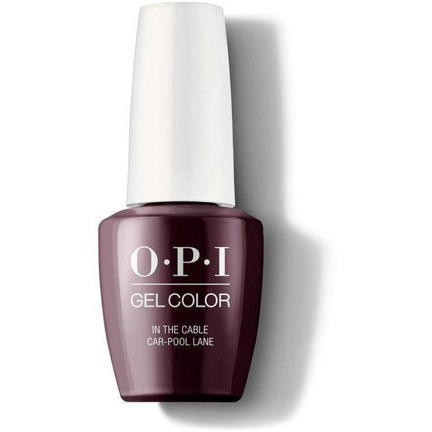 OPI Gel Color - In the Cable Car-pool Lane 0.5 oz - GCF62 - Milky Beauty