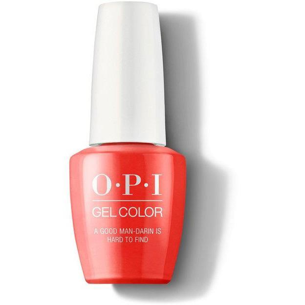OPI Gel Color - A Good Man-darin is Hard to Find 0.5 oz - GCH47 - Milky Beauty