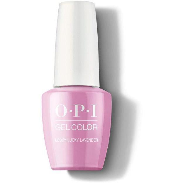 OPI Gel Color - Lucky Lucky Lavender 0.5 oz - GCH48 - Milky Beauty