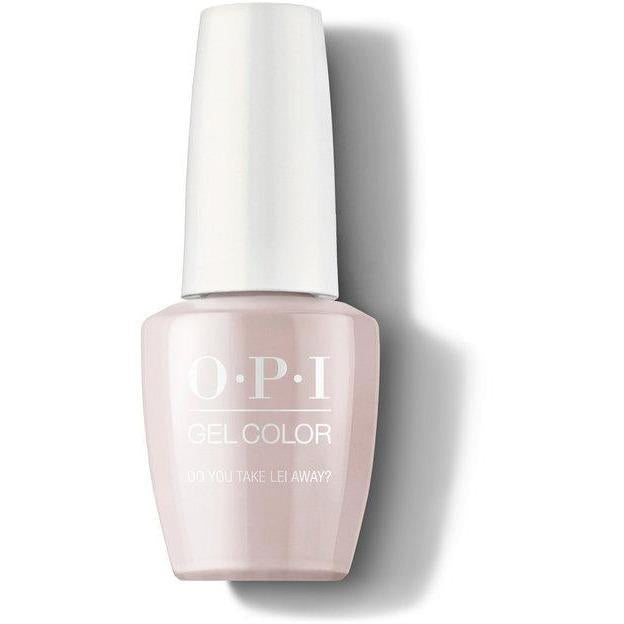 OPI Gel Color - Do You Take Lei Away? 0.5 oz - GCH67 - Milky Beauty