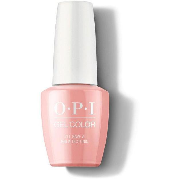 OPI Gel Color - I'll Have a Gin & Tectonic 0.5 oz - GCI61 - Milky Beauty