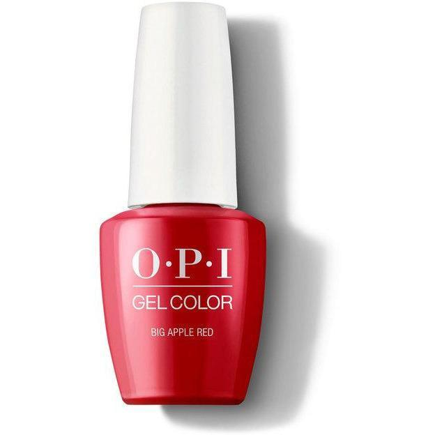 OPI Gel Color - Big Apple Red 0.5 oz - GCN25 - Milky Beauty